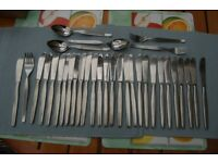 Viners 'Profile', 'Barnum' & 'Penthouse Suite' Cutlery, Most with Mark, 100+ pcs Excellent Cond.