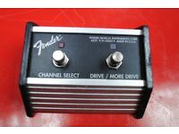 Fender 2-Button Footswitch Channel/Reverb £60
