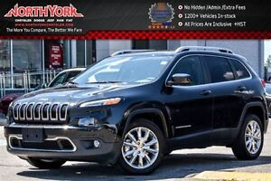 2016 Jeep Cherokee Limited|Nav|R-Start|RearCam|Uconnect8.4|HtdFr