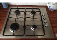 Gas Hob 4 burners- Used only 1 year.