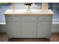 Solid Pine Sideboard in Pristine Condition