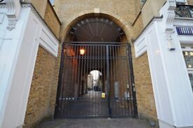 BEAUTIFUL GATED 1 BED APARTMENT TO RENT IN ESSEX RD, N1. PROFESSIONALS WELCOME
