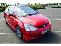 2001 HONDA CIVIC TYPE R good condition not gti 172 182 m3 st glanza wrx vxr