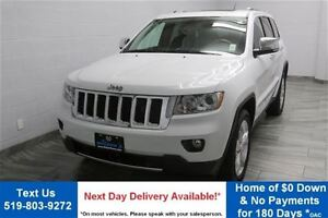 2013 Jeep Grand Cherokee OVERLAND 4WD w/ NAVIGATION! LEATHER! PA