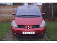 Renault Espace 1.9Dci Dynamique in Red, 55 plate **spares or repair**