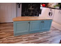 GETAFE-SIDEBOARD ,DRAWERS, TV UNIT,SHABBY CHIC,Annie Sloan , VINTAGE,free delivery Glasgow