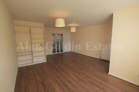 Refurbished two double bedroom garden flat with a garage