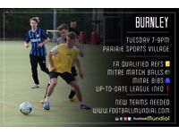 Burnley 6-a-side – Teams Needed!