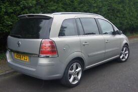 Vauxhall Zafira 1.9cdti SRI, 2006, 70k miles, High Spec 7 Seater with NEW MOT