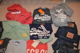 Men's hoodies hoody - SUPERDRY / ABERCROMBIE A&F / SOULCAL. Most brand new. Small/Medium