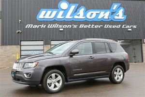 2016 Jeep Compass HIGH ALTITUDE 4WD! LEATHER! SUNROOF! $75/WK, 5