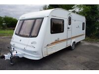 CARAVAN COMPASS AMAZON 534--4 BERTH--FIXED BED 2004-EXCELLENT CONDITION