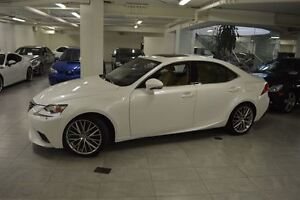 2014 Lexus IS 250 AWD NAV CUIR TOIT CAMERA BAS KM