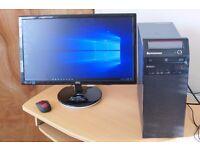 Lenovo MT-M3484 ThinkCentre, i3 Quad Core,pc > 4GB Ram, 500GB HDD, GeForce GT620 HD Graphics Card