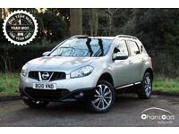 2010 Nissan Qashqai 1.6 N-TEC £7495
