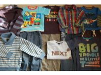 Bundle of clothes for boy 4 - 5 years.