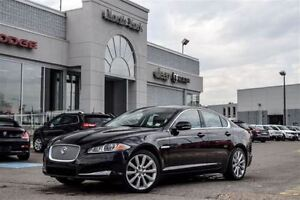 2013 Jaguar XF V6 AWD Supercharged Nav Leather Meridian Audio Su