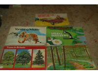 Brooke Bond collectors albums & cards , Vanishing wildlife, W/land Wildlife, Small Wonders. etc
