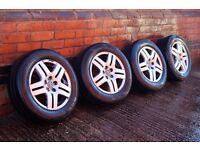 "15"" VW GT Alloys Wheels Tyres* 195/65/15 *5x100 *Audi A3 Golf GTI Skoda Polo Lupo #Bargain"
