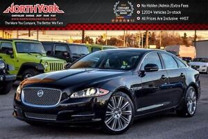 2013 Jaguar XJ Supercharged|Sunroofs|Htd/VntdSeats|DrvrMem|Blind
