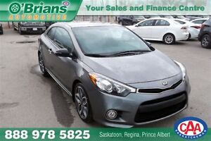2015 Kia FORTE KOUP SX - BRAND NEW VEHICLE! MFG WARRANTY!