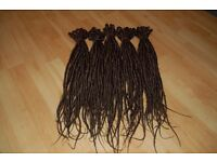 Brown Synthetic Dreadlocks