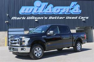 2016 Ford F-150 XLT 4WD CREW CAB! BLUETOOTH! KEYLESS ENTRY! STEE