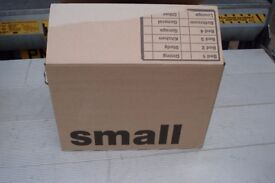 10 double wall cardboard boxes very strong size 14 x 14 x 18 high