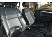 AUDI A4 B6 BLACK LEATHER SEATS/ INTERIOR WITH DOOR CARDS