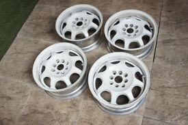 "Genuine Desmond Zephir Auto Strasse 15"" Alloy wheels 4x100 JDM Honda Civic Mazda Mx5 Eunos alloys"