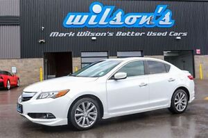 2015 Acura ILX TECH PACKAGE LEATHER! NAVIGATION! SUNROOF! $85/WK