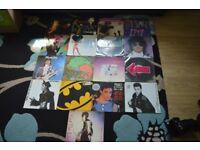 Prince 12 inch vinyl Singles ( 17 ) ( rare )