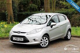 2011 Ford Fiesta 1.25 Zetec 5dr £4995