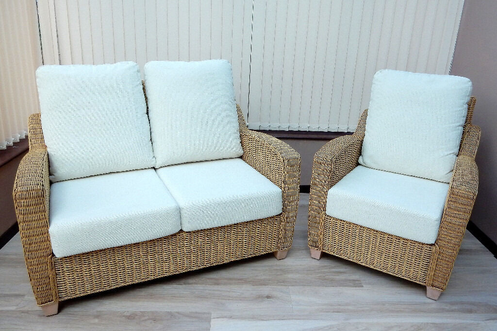 Conservatory Furniture Setin Ashbourne, DerbyshireGumtree - Conservatory furniture set. Only about 2 years old and cost £1200 new. Great condition with removable seating covers