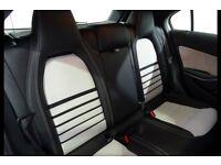 White A180 Mercedes 14 month WARRANTY RAC SAT NAV and PARKING SENSORS white interior