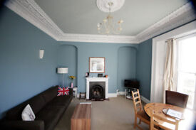 Bright and spacious 2 bedroom flat on Redland RD with off street parking