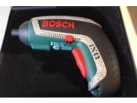 BARGAIN BUY LESS THAN HALF OF RRP! Bosch Cordless Lithium-Ion Screwdriver with Swarovski Crystals