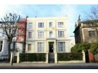 Studio flat in 4 Pembridge Villas, Notting Hill W11