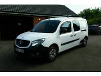 2013 Mercedes-Benz Citan 109 CDI BlueEFFICIENCY Dualiner, Extra-Long 5 seater crew cab van