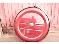 STAINLESS STEEL LAND ROVER WHEEL COVER AND FACEPLATE