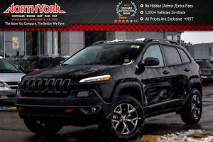 2017 Jeep Cherokee NEW Car Trailhawk|4x4|Tow/Cold Wthr/Comfort P