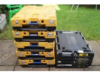 5 x Plastic Pally Dolly Pallets with LIDS