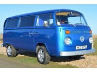 VW Type 2 Bay Window 7 seater minibus van 2000cc excellent condition