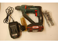 Parkside 20V Cordless Hammer Drill PABH 20-Li B2 with 2ah battery and charger