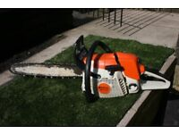 Stihl MS280 professional chainsaw 18 inch bar