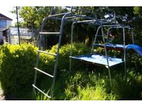 TP CHALLENGER CLIMBING FRAME WITH EXTRAS