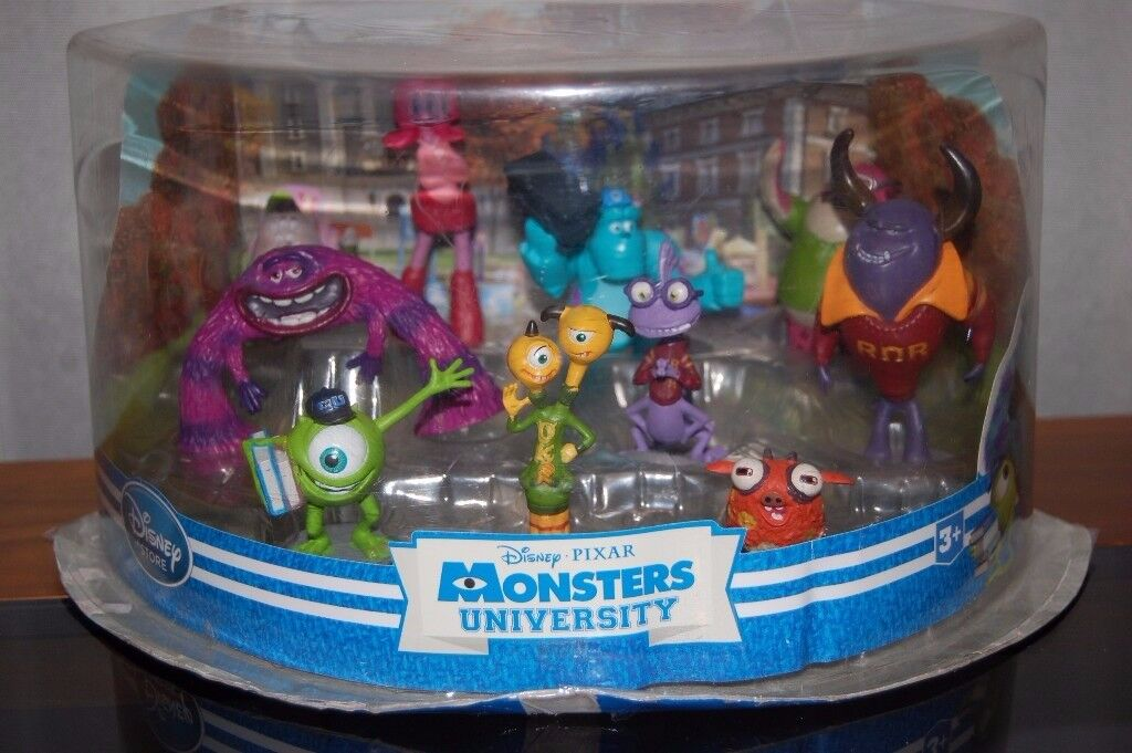 Monsters University figurine set from Disney - used but like new