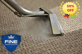 50% OFF PROFESSIONAL STEAM CARPET AND UPHOLSTERY CLEANING/STAIN REMOVAL - Chigwell -