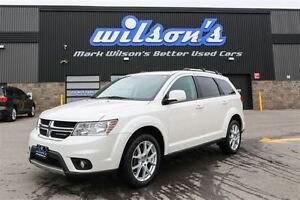 2016 Dodge Journey Limited V6! 7 PASS! DVD PLAYER! SUNROOF! CAME