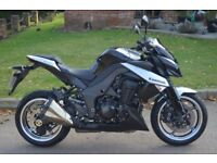 Kawasaki Z1000 DAF 2010 Black and Silver